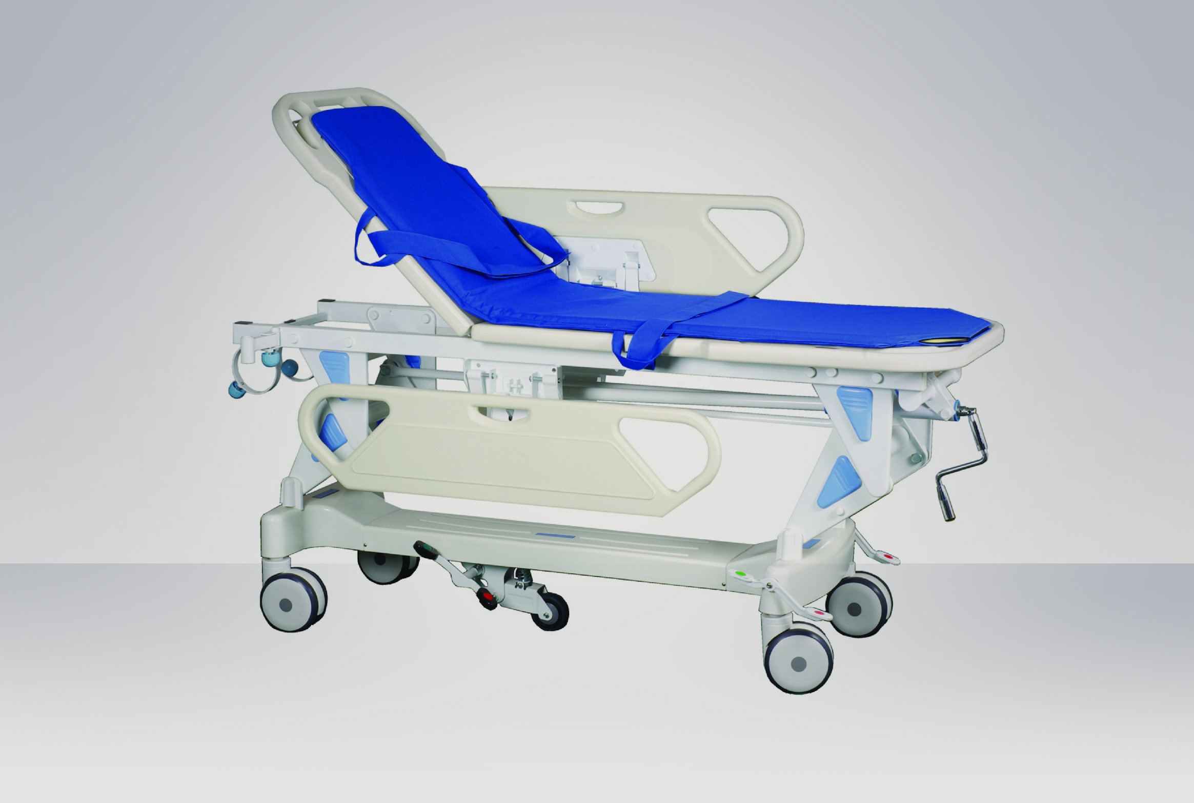 Rise-and-Fall Stretcher Cart