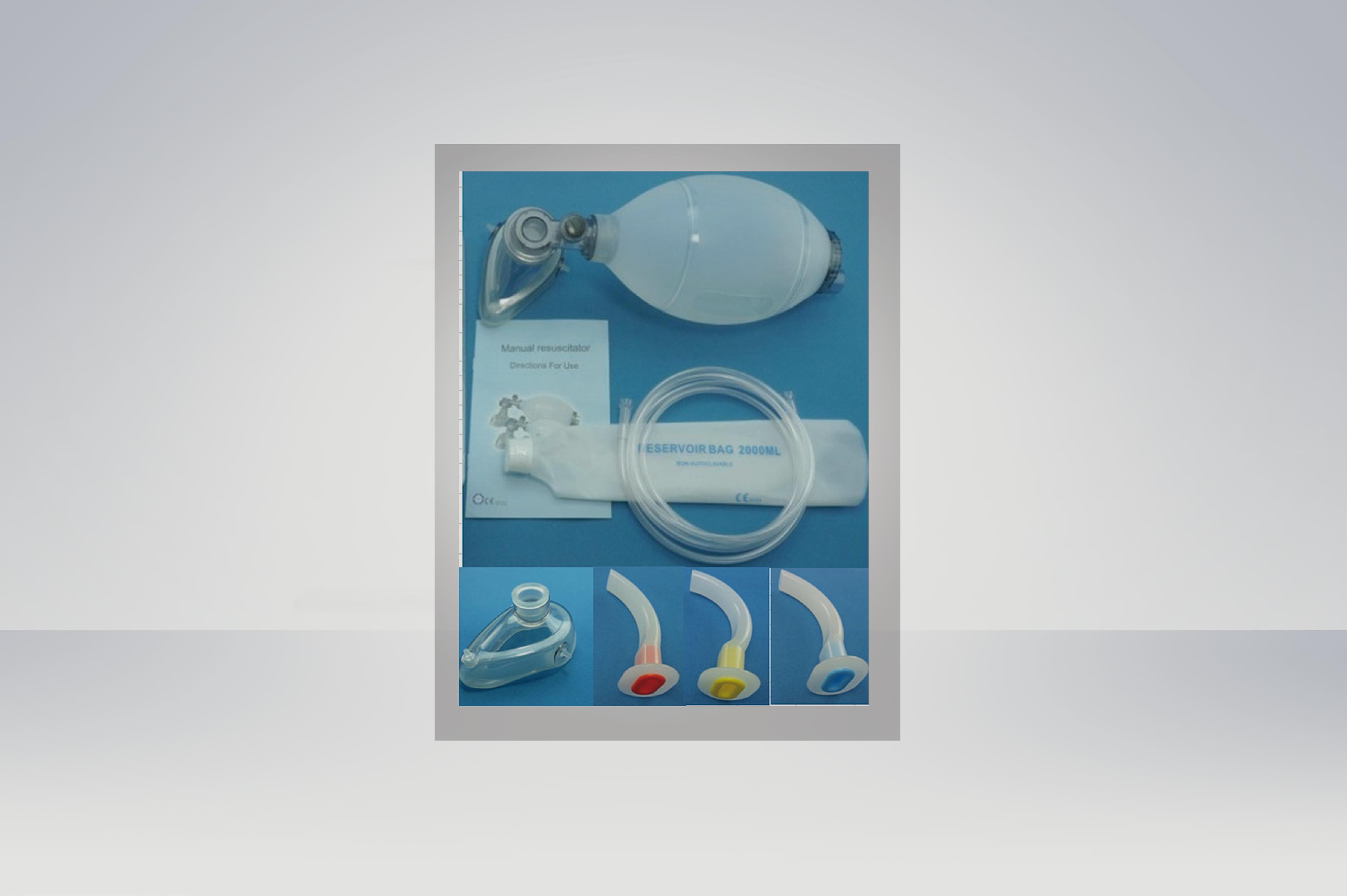 Silicone Resuscitator Bag