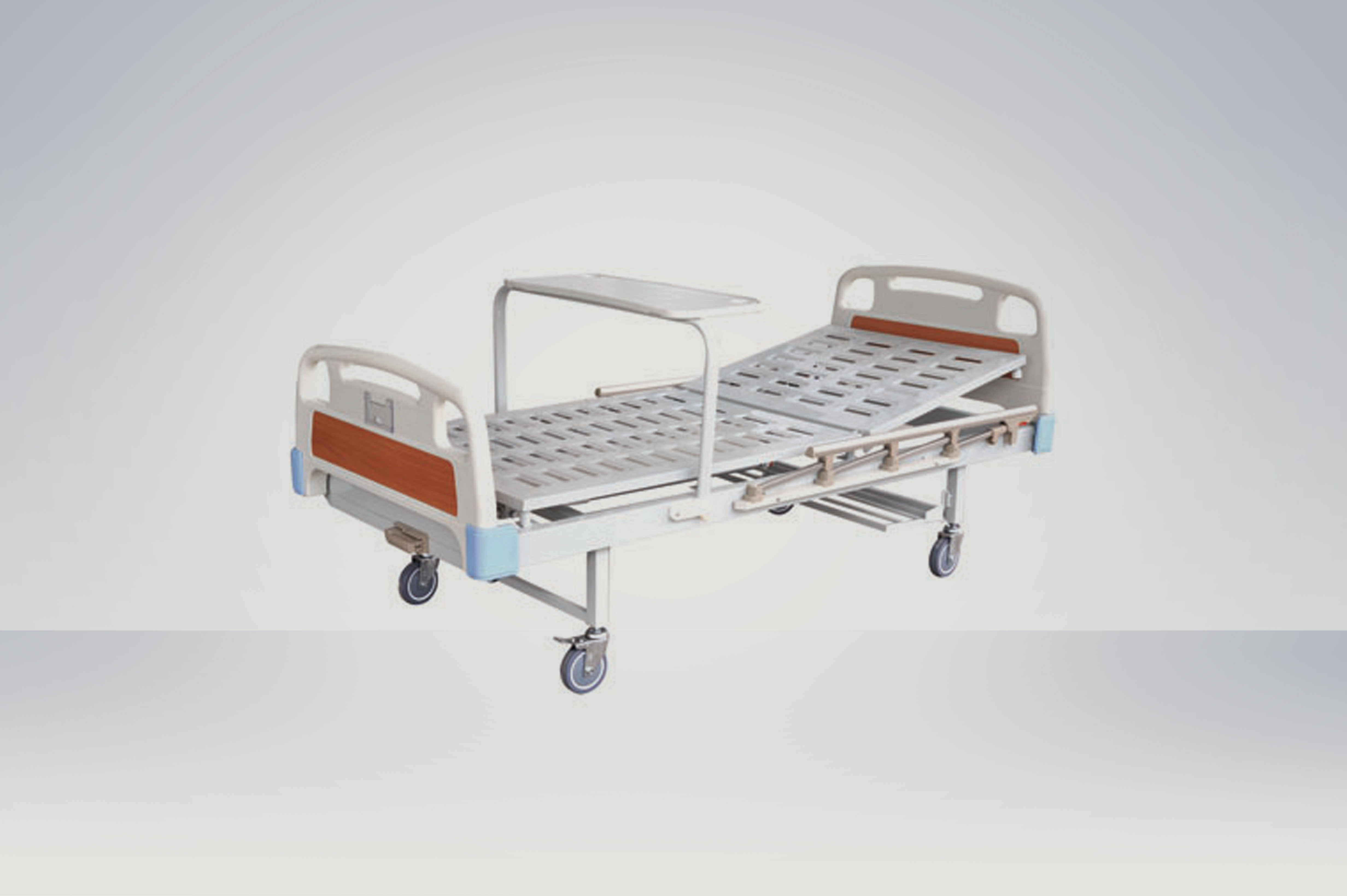 One-crank Manual Bed