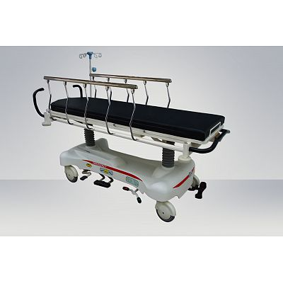 Hydraulic Rise-and-Fall Stretcher Cart